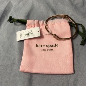 Kate Spade Yours Truly Pave Open Cuff